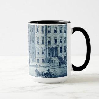 Elgin Illinois Waverly House Hotel 1871 Railroad Mug