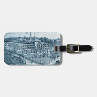 Elgin Watch Factory 1871 Image Elgin Illinois Luggage Tag