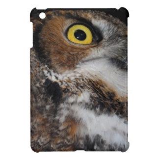 Eli - Great Horned Owl IV Case For The iPad Mini