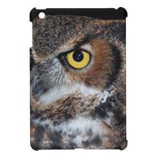 Eli - Great Horned Owl VI iPad Mini Cover