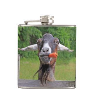 Eli The Goat Hip Flask