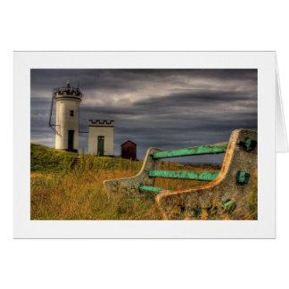 Elie Lighthouse, Scotland Card