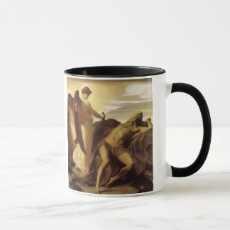 Elijah in Wilderness by Lord Frederic Leighton Mug
