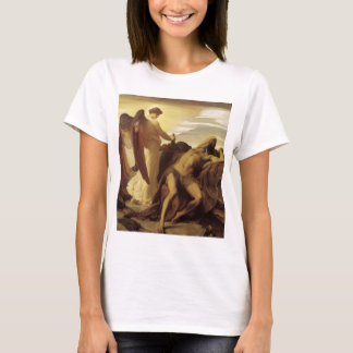 Elijah in Wilderness by Lord Frederic Leighton T-Shirt