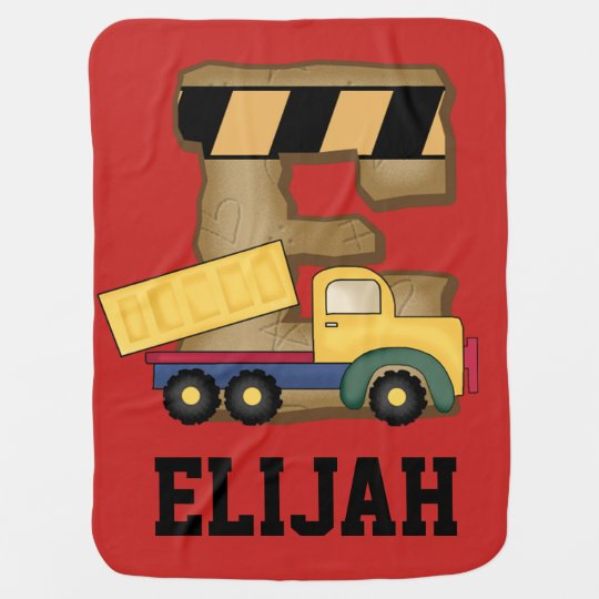 Elijah's Personalized Gifts Swaddle Blanket