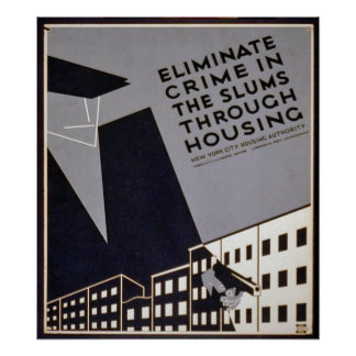 Eliminate Crime in Slums? Poster