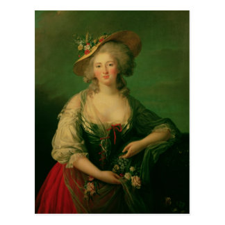 Elisabeth of France  called Madame Elizabeth Postcard