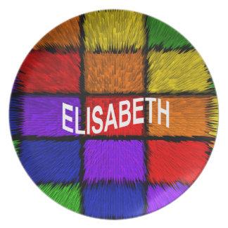ELISABETH PLATE