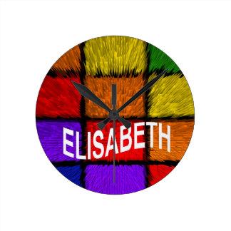 ELISABETH ROUND CLOCK