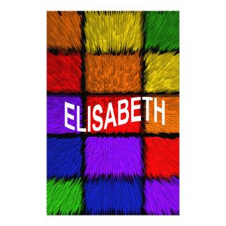 ELISABETH STATIONERY