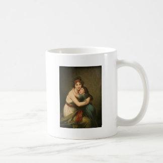 Elisabeth Vigee Lebrun with Daughter 1780-1819 Coffee Mug