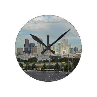 Elitch Gardens and the Downtown Denver Colorado Sk Clocks