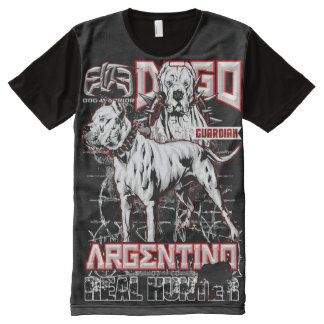 Elite Dogo Argentino All-Over-Print T-Shirt
