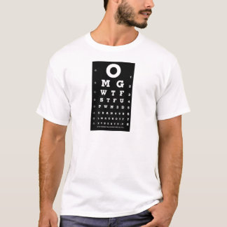 Elite Gamer Eye Chart T-Shirt