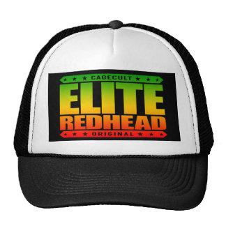 ELITE REDHEAD - I Am Greatest Fiery Phoenix Rising Trucker Hat