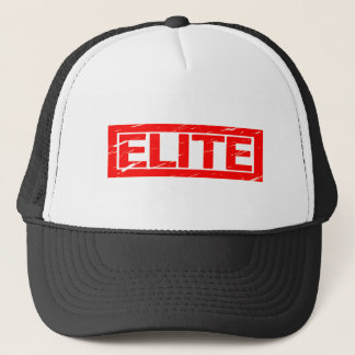 Elite Stamp Trucker Hat