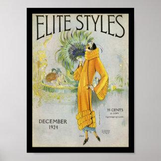 Elite Styles 1924 Poster