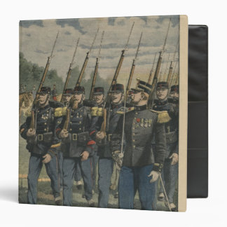 Elite troops of French army 3 Ring Binders