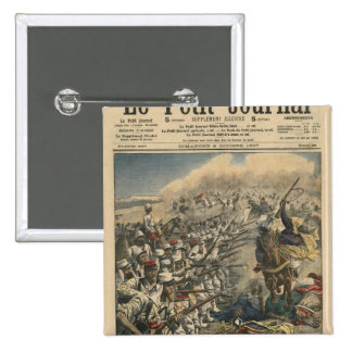 Elite troops of French army, French Foreign 2 Inch Square Button