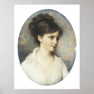 Eliza Izard (Mrs. Thomas Pinchney Jr.), 1801 Poster