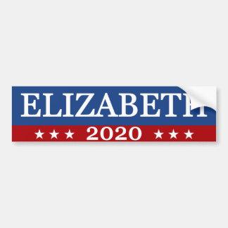 Elizabeth 2020 bumper sticker