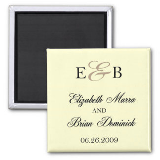 elizabeth and brian 2 magnet