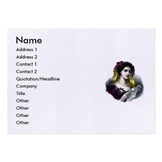 Elizabeth Barrett Browning - 42 Large Business Card