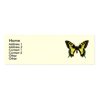 Elizabeth Barrett Browning - 42 Mini Business Card