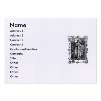 Elizabeth Barrett Browning - 42 Pack Of Chubby Business Cards
