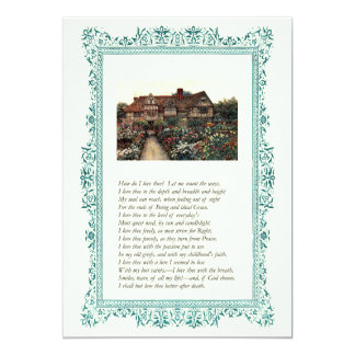 Elizabeth Barrett Browning - 43 Card