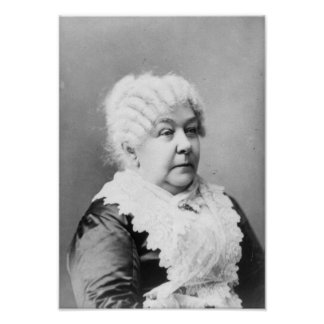 Elizabeth Cady Stanton Poster