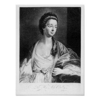 Elizabeth Chudleigh  Countess of Bristol Poster