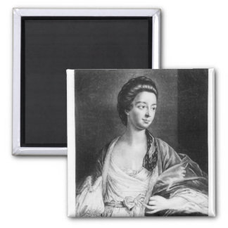 Elizabeth Chudleigh  Countess of Bristol Square Magnet