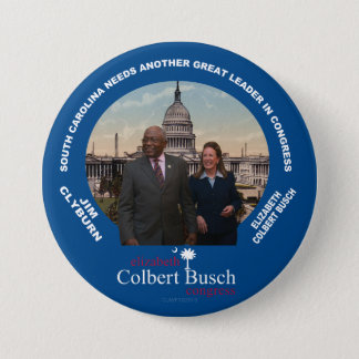 Elizabeth Colbert Busch & Jim Clyburn pin