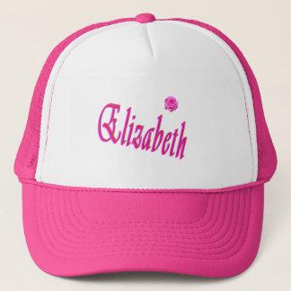 Elizabeth Girls Name Logo, Trucker Hat