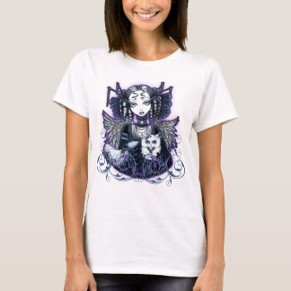 Elizabeth Gothic Persian Cat Angel Top