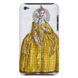 Elizabeth I (1530-1603) (coloured engraving) Case-Mate iPod Touch Case