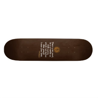"Elizabeth I ""Golden Speech"" Quote Skate Boards"