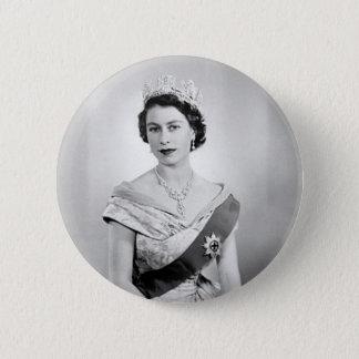 Elizabeth II queen of England 2 Inch Round Button