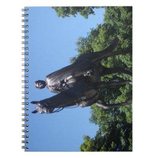 Elizabeth II Statue in Montreal City Notebook