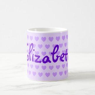 Elizabeth in Purple Coffee Mug