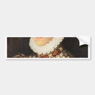 Elizabeth of Austria, Queen of France Bumper Sticker