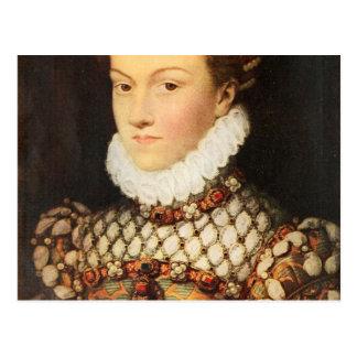 Elizabeth of Austria, Queen of France Postcard