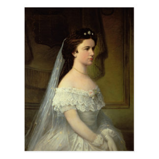 Elizabeth of Bavaria , Empress of Austria Postcard