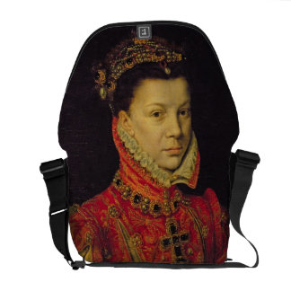 Elizabeth of Valois (1545-68) 1570 (oil on canvas) Commuter Bags