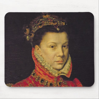 Elizabeth of Valois (1545-68) 1570 (oil on canvas) Mouse Pad
