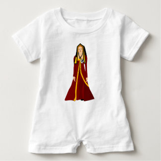Elizabeth of York Baby Romper