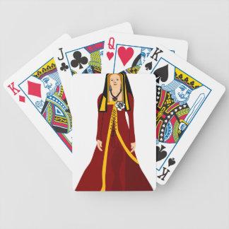 Elizabeth of York Bicycle Playing Cards