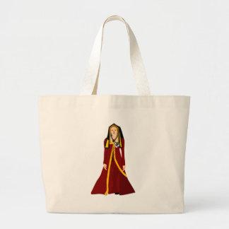 Elizabeth of York Large Tote Bag