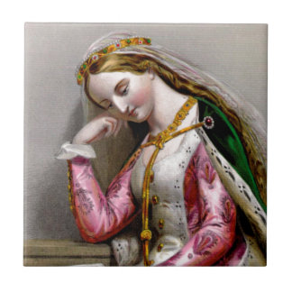Elizabeth of York Tile